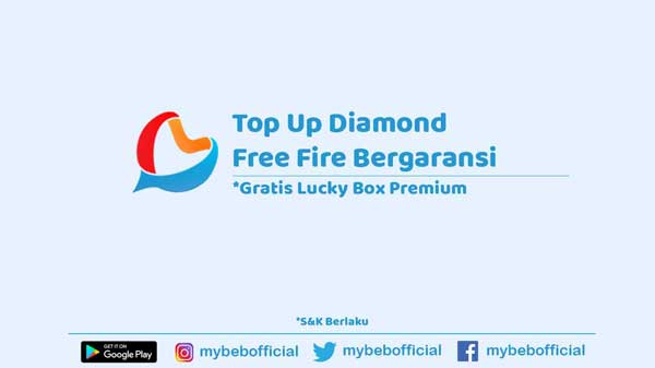 Top Up Diamond Free Fire Termurah Bergaransi