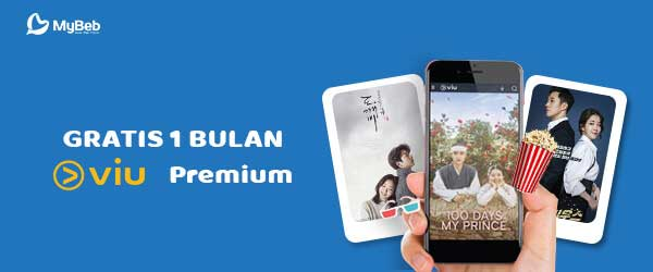 voucher Gratis Streaming VIU 1 Bulan