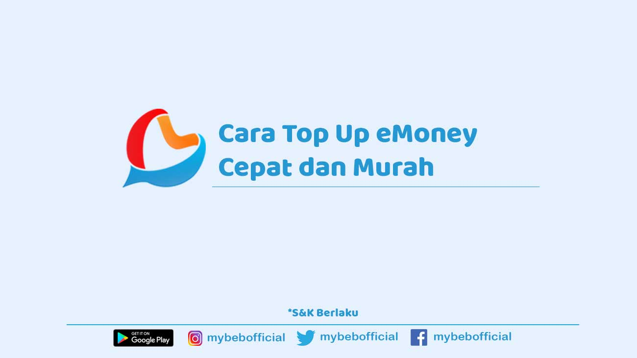 cara top up saldo emoney
